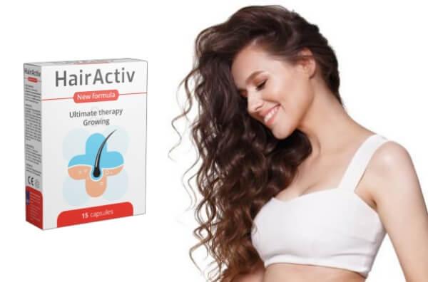 hairactiv κάψουλες ανάπτυξη μαλλιών απώλεια μαλλιών γυναίκα