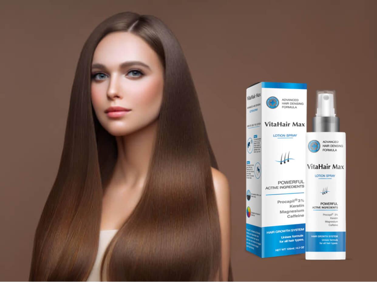 VitaHair Max, αντι-hairloss σπρέι, γυναίκα, μαλλιά
