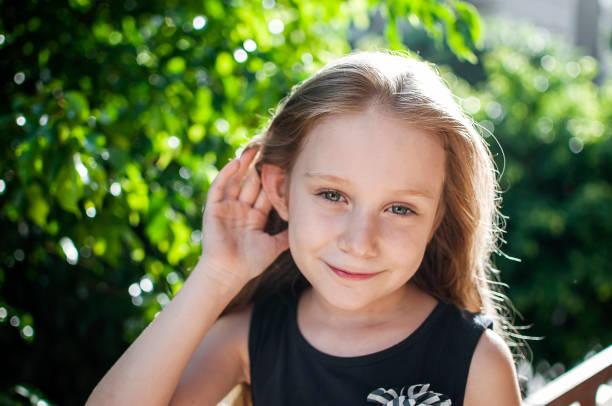 παιδί, αυτιά, ακοή